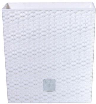 Prosperplast Rato Low 32x32x32,5 cm weiß