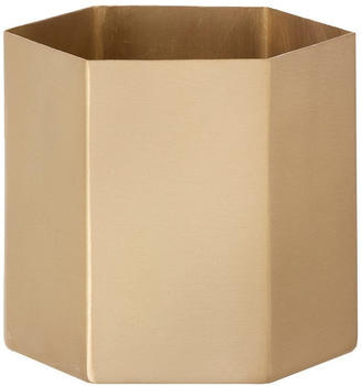 Ferm Living Small Brass Hexagon Gold