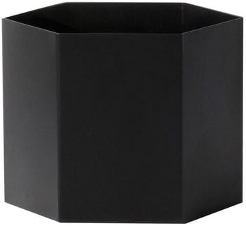 Ferm Living Hexagon Pot Black XL