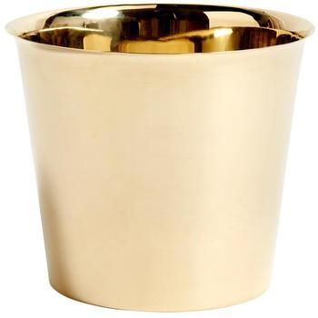 HAY Botanical Family Cachepot Brass X-Large