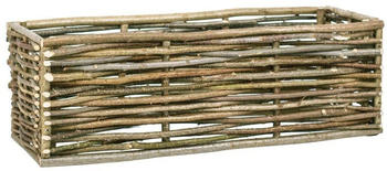 vidaXL Planter Hazelnut Wood 120 x 40 x 40 cm