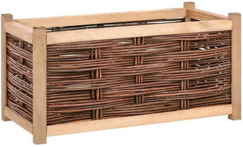 vidaXL Planter Solid Wood 80 x 40 x 40 cm