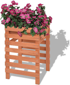 vidaXL Planter Wood 38 x 36 x 60 cm