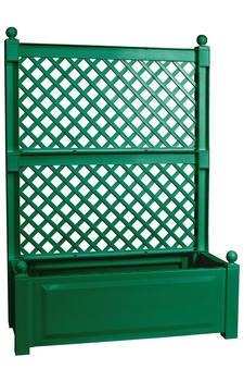 KHW Pflanzkasten 140x100x43cm inkl. Spalier grün