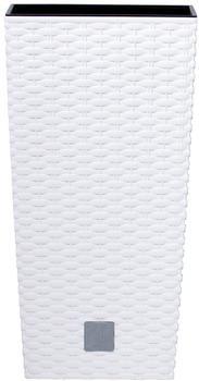 Prosperplast Rato Square 20x20x37,6 cm weiß
