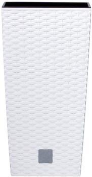 Prosperplast Rato Square 28,7x28,7x55 cm weiß
