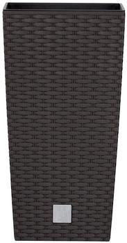 Prosperplast Rato Square 28,7x28,7x55 cm braun