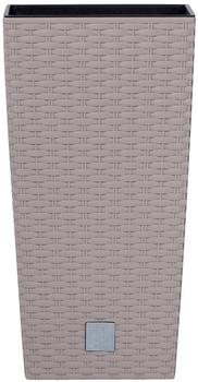 Prosperplast Rato Square 17x17x32,4 cm mocca