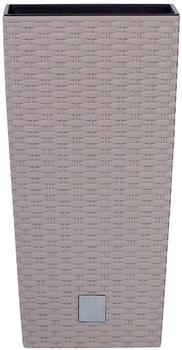 Prosperplast Rato Square 32,5x32,5x61 cm mocca