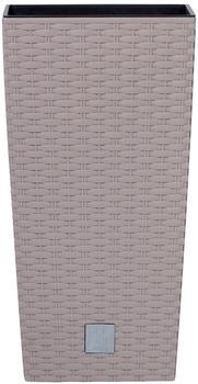 Prosperplast Rato Square 26,5x26,5x50cm mocca