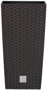Prosperplast Rato Square 26,5x26,5x50cm braun