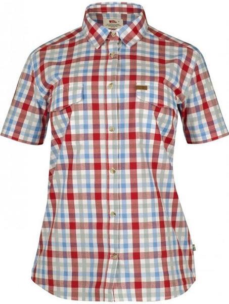 Fjällräven Övik Check Shirt SS W rot