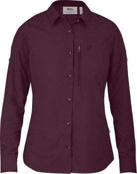 Fjällräven Abisko Hike Shirt LS W (89599) plum