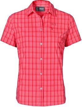 Jack Wolfskin Centaura Stretch Vent Shirt W red fire