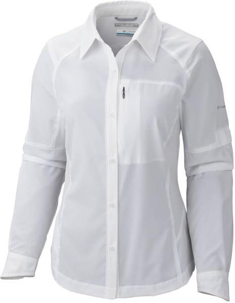 Columbia Silver Ridge LS Shirt Women (AL7079) white