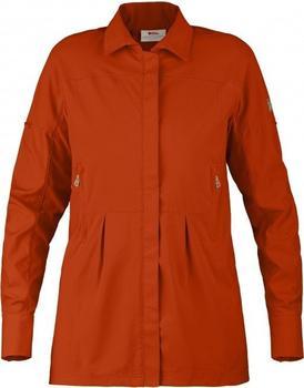 Fjällräven Abisko Sun Shirt LS W flame orange