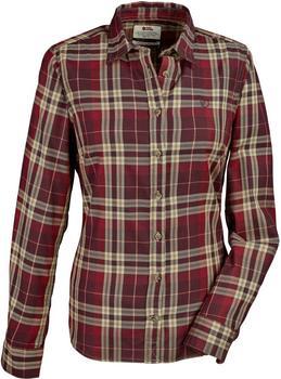 Fjällräven Övik Flanell Shirt LS W dark garnet