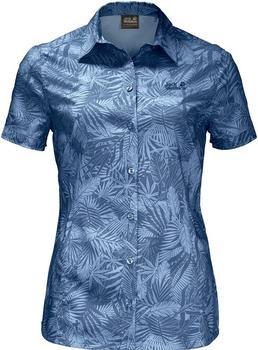 Jack Wolfskin Sonora Jungle Shirt ocean wave all over