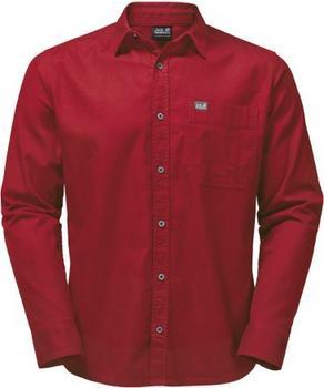 Jack Wolfskin River Shirt Women indian red