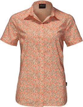 Jack Wolfskin Sonora Millefleur Shirt papaya all over