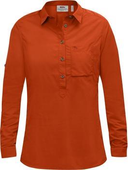 Fjällräven Damen High Coast Shirt LS orange