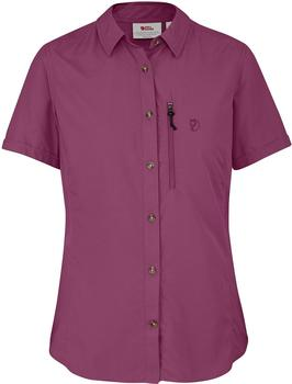 Fjällräven Abisko Hike Shirt SS W pflaume