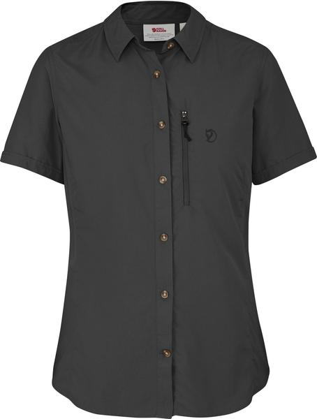 Fjällräven Abisko Hike Shirt SS W dunkelgrau
