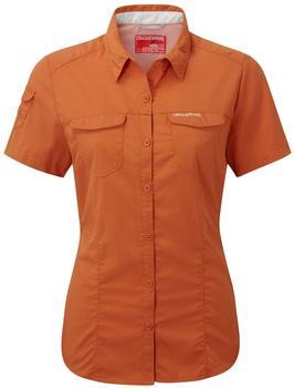 Craghoppers Nosilife Adventure Kurzarm Bluse desert orange