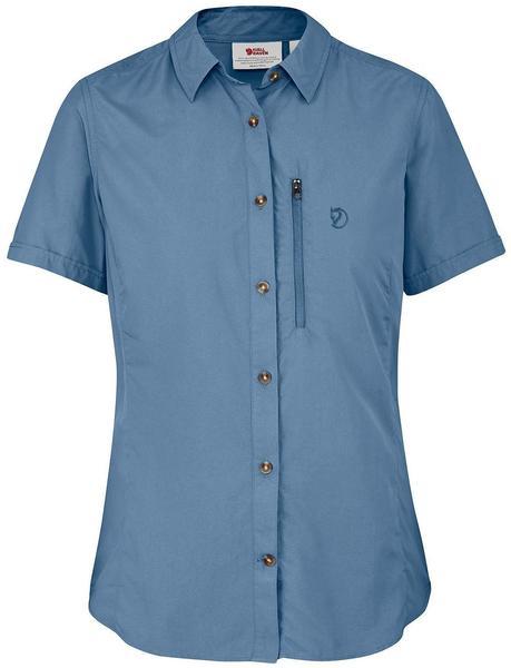 Fjällräven Abisko Hike Shirt SS W blau ridge