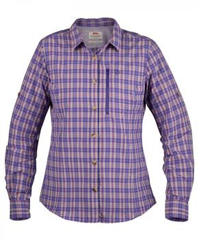 Fjällräven Abisko Hike Shirt LS W (89823) purple