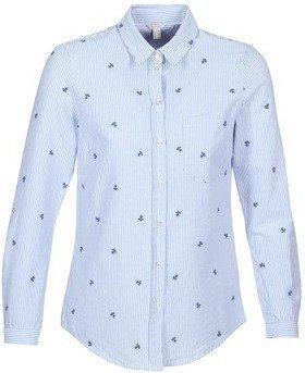 Esprit Hemdbluse mit Stickerei (18EE1F008) light blue
