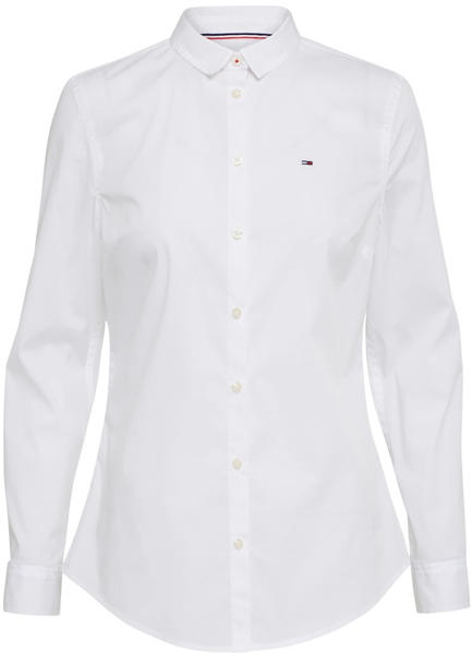 Tommy Hilfiger Hemd aus Stretch-Baumwolle classic white (DW0DW04432)