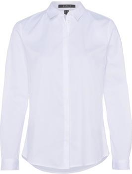 Esprit Klassische Hemdbluse mit Stretchkomfort white (997EO1F802-100)