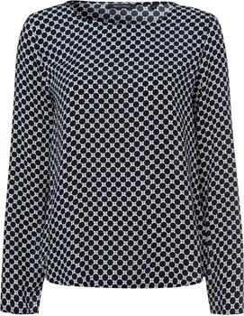 Marc O'Polo Blusenshirt mit graphischem Muster (901105542305)