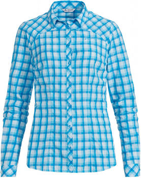 VAUDE Women's Tacun LS Shirt crystal blue