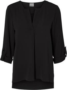Vero Moda Lässige Bluse mit 3/4 Ärmeln black (10182497)