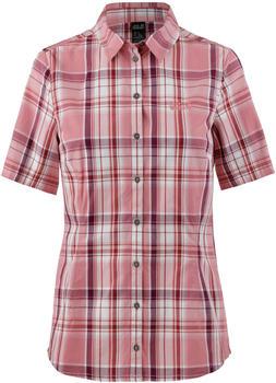 Jack Wolfskin Maroni River Shirt Women rose quartz checks