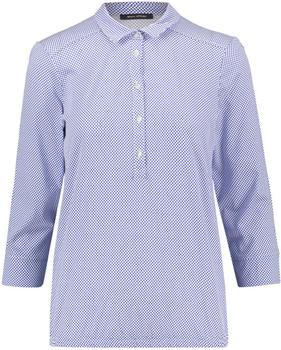 Marc O´Polo Jersey-Bluse aus Baumwoll-Modal-Mix blau (901300952803)