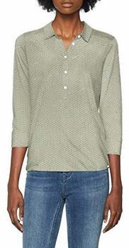 Marc O´Polo Jersey-Bluse aus Baumwoll-Modal-Mix grün (901300952803)