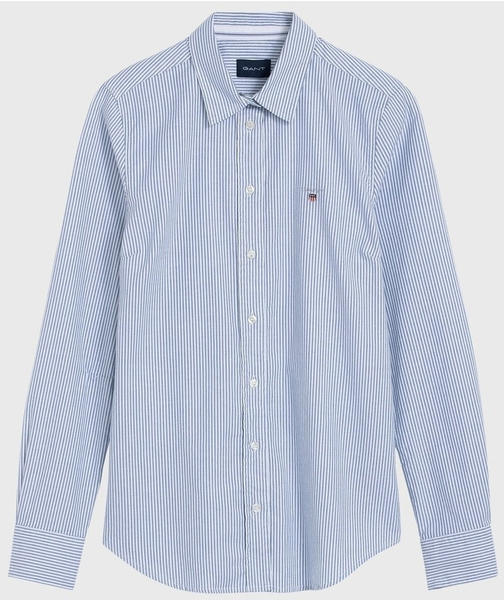 GANT Stretch Oxford Banker Bluse nautical blue (4320000-422)