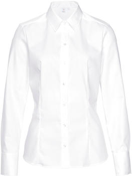 Seidensticker Fil a fil Hemdbluse (60.080604-01) weiß