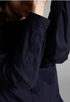Eterna Langarm bluse 1863 by - premium slim fit blau (5005_19DY18)
