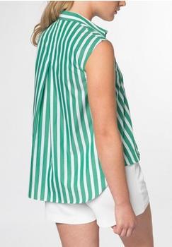 Eterna Ohne Arm Bluse 1863 by - premium popeline grün (6070-40-AP06)