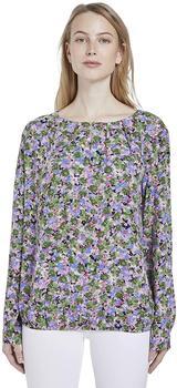 Tom Tailor Longsleeve Shirt colorful floral design (1017423)