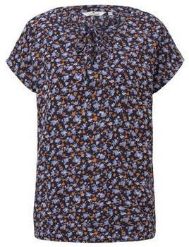 Tom Tailor Shirt navy floral design (1020496)