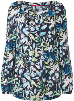 S.Oliver Blouse with a floral pattern (04.899.11.6081) navy aop