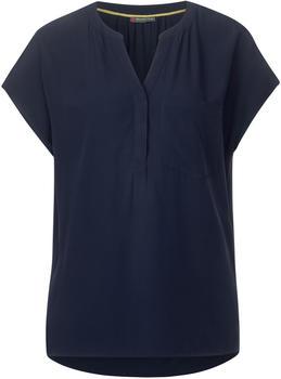 Street One Bluse Mit Brusttasche (A341955) deep blue