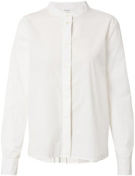 Marc O'Polo Long-sleeved blouse Made of cotton poplin (M41110542059) white