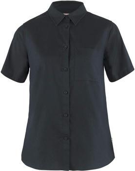 Fjällräven Övik Travel Shirt SS W (87040) dark navy