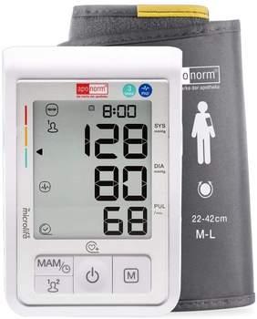 Aponorm Blutdruckmessgerät Basis Control Plus Oberarm